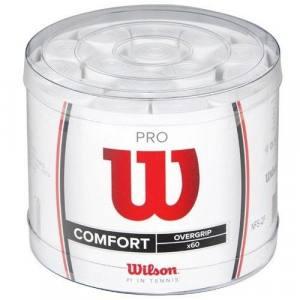 Tambor 60 Overgrips Wilson Pro Blanco