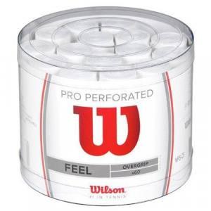 Tambor de 60 Overgrips Wilson Pro Perforados