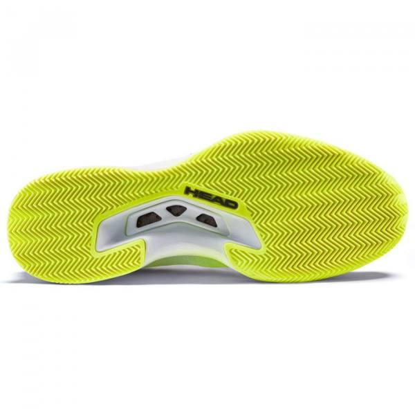 Zapatillas Head Sprint Pro 3.0 Amarillas Suela