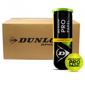 Cajón pelotas Dunlop Pro Padel