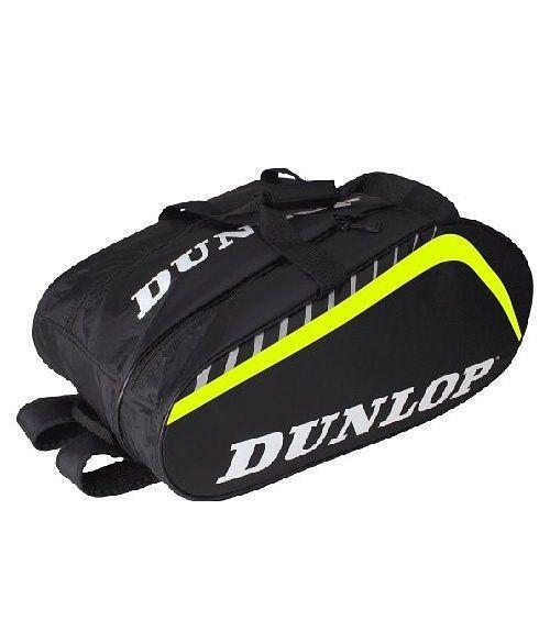 Paletero Dunlop Play Grande Negro-Amarillo