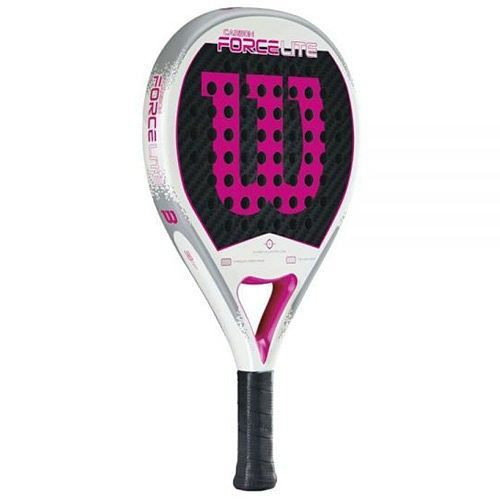 Wilson Carbon Force Lite Rosa Pala