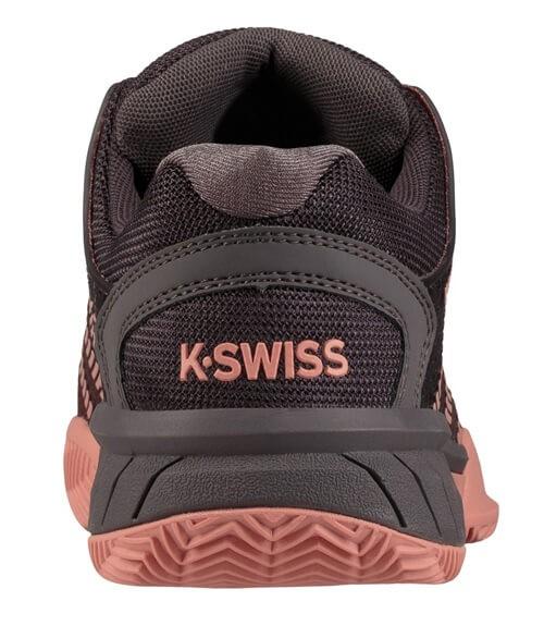 Zapatillas K-Swiss Hypercourt Express Hb Mujer Rosa-Gris
