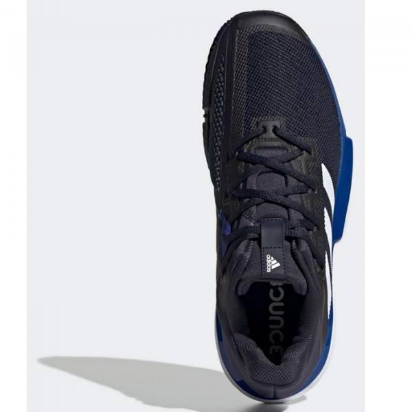 Zapatillas Adidas Solematch Bounce Azules-Negras Detalle