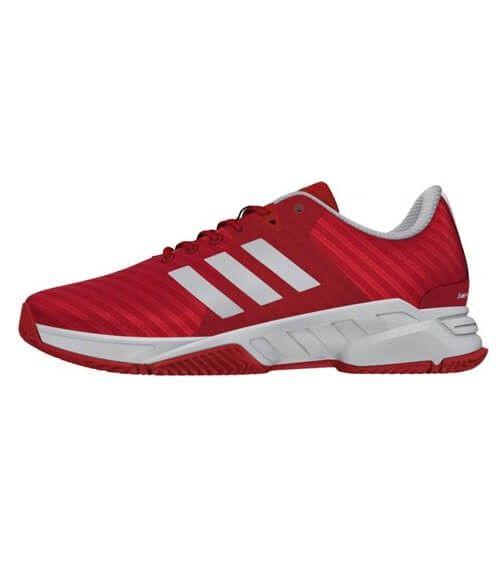 Zapatillas Adidas Barricade Court 3 Rojas