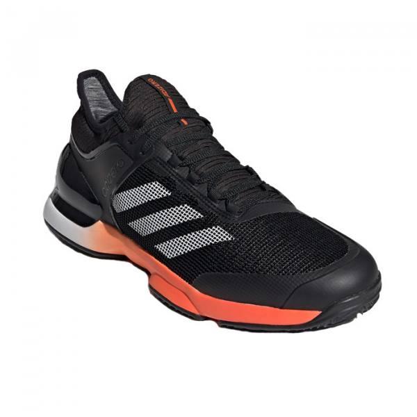 Zapatillas Adidas Adizero Ubersonic 2 Clay Negras 2020