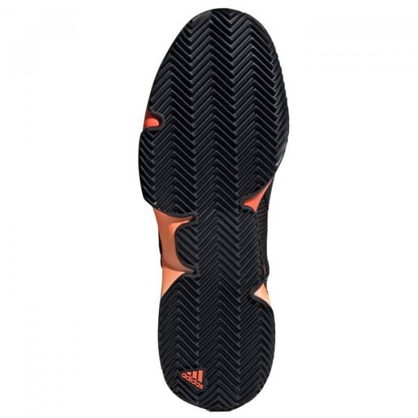 Zapatillas Adidas Adizero Ubersonic 2 Clay Negras Suela