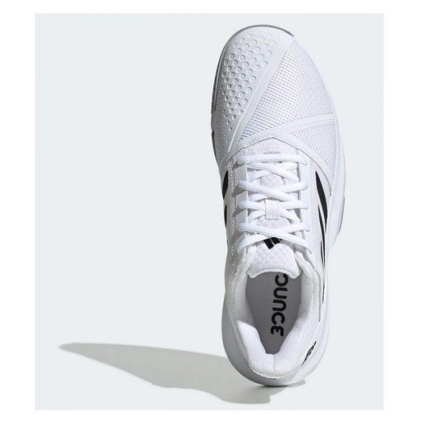 Zapatillas Adidas Courtjam Bounce Blancas 2020