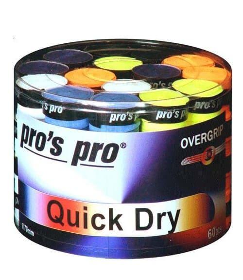 Tambor 60 Overgrips Pro´s Pro Quick Dry Colores