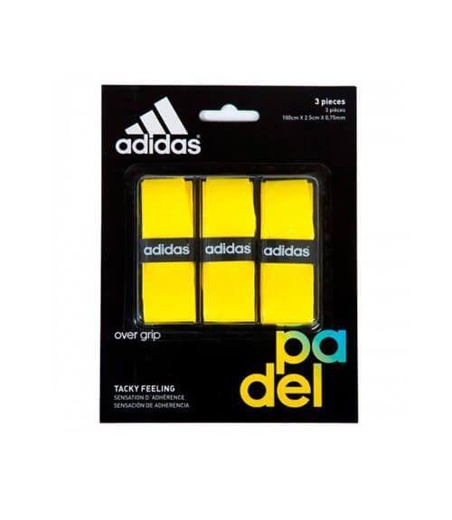 Pack 3 Overgrips Adidas Set Of Amarillo