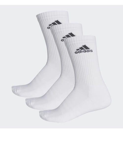 Calcetines Adidas Largos Blancos Pack 3
