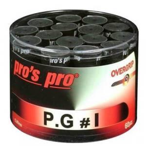 Tambor 60 Overgrips Pro´s Pro Negros Perforados