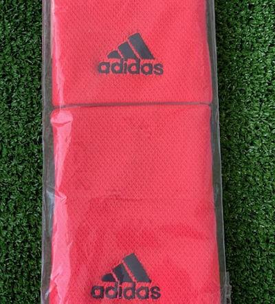 Detalle Blister 2 muñequeras Adidas Rojo
