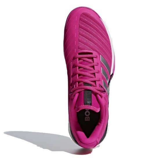 Adidas Barricade Boost Rosas Zapatillas