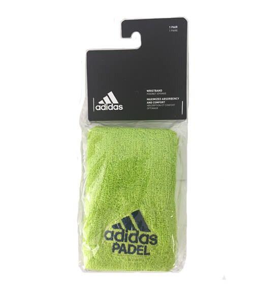 Blister 2 muñequeras Adidas Lima
