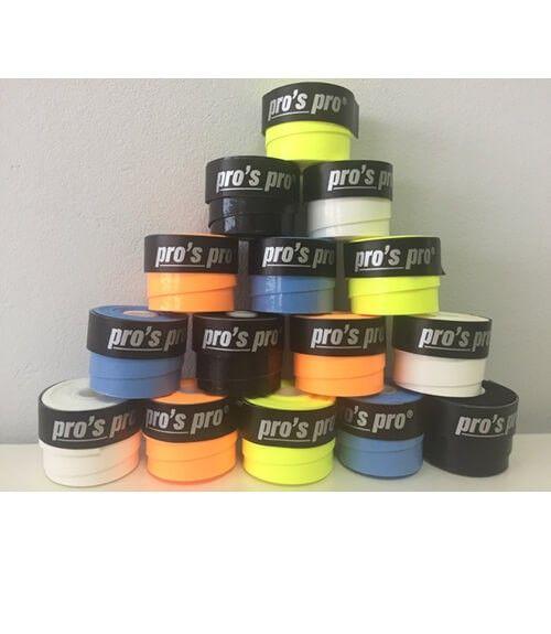 Overgrip Pro´s Pro Super Tacky Plus Lisos Colores