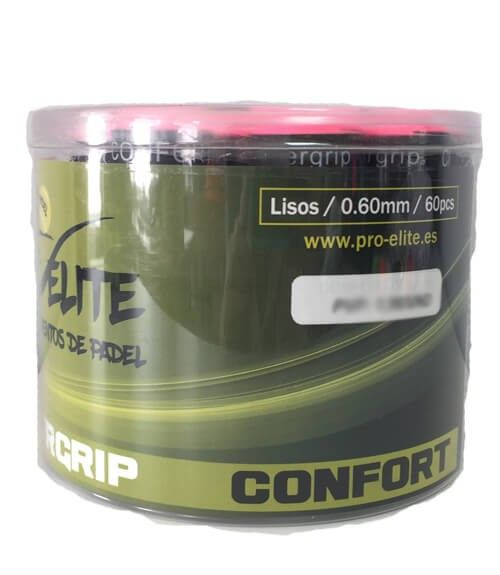 Tambor 60 Overgrips Pro Elite Confort Lisos Colores