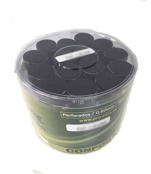 Tambor 60 Overgrips Pro Elite Confort Perforados