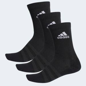 Calcetines Adidas Negros-Pack 3