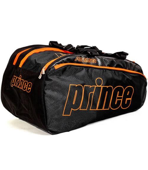 Paletero Prince Premier Negro y Naranja