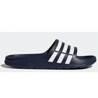 Chanclas Adidas Duramo Slide Azules Oscuras