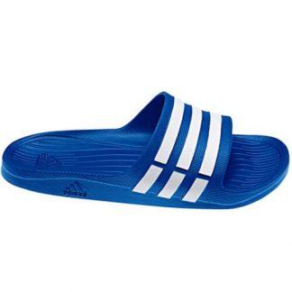 Chanclas Adidas Duramo Slide Azules
