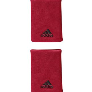 Blister 2 muñequeras Adidas Red