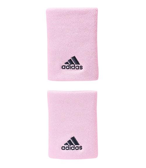 Blister 2 muñequeras Adidas Rosas