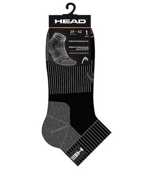 Calcetines HEAD Cortos Negros