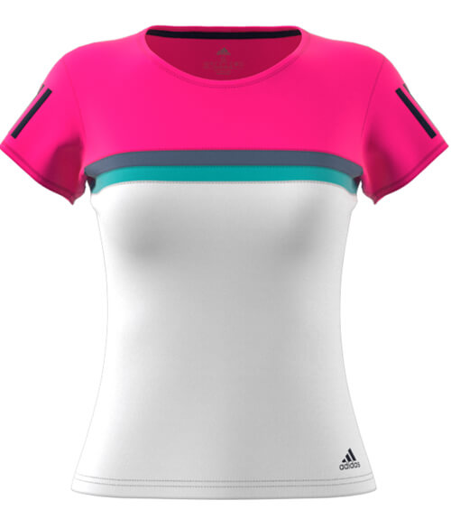 Camiseta Adidas Club Rosa Woman