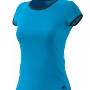 Camiseta Adidas Club Azul Mujer