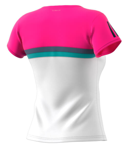 Camiseta padel Adidas Club Rosa Woman