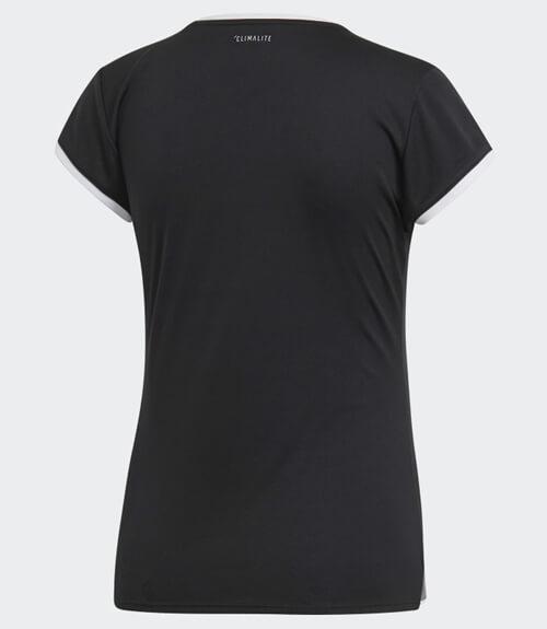 Camiseta Adidas Club Negra Mujer 2019