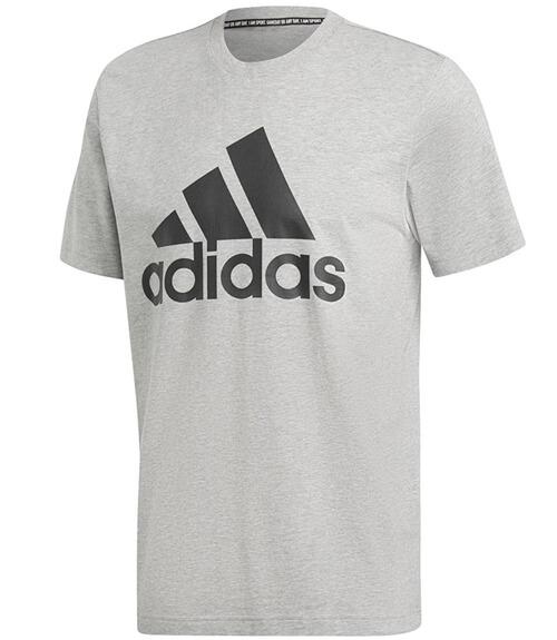 Camiseta algodón Adidas Gris