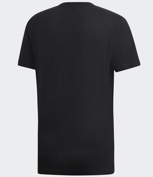 Camiseta algodón Adidas Negra 2019
