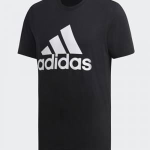 Camiseta algodón Adidas Negra