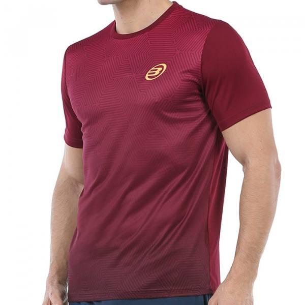 Camiseta Bullpadel Cenegui Vino-Burdeos 2020