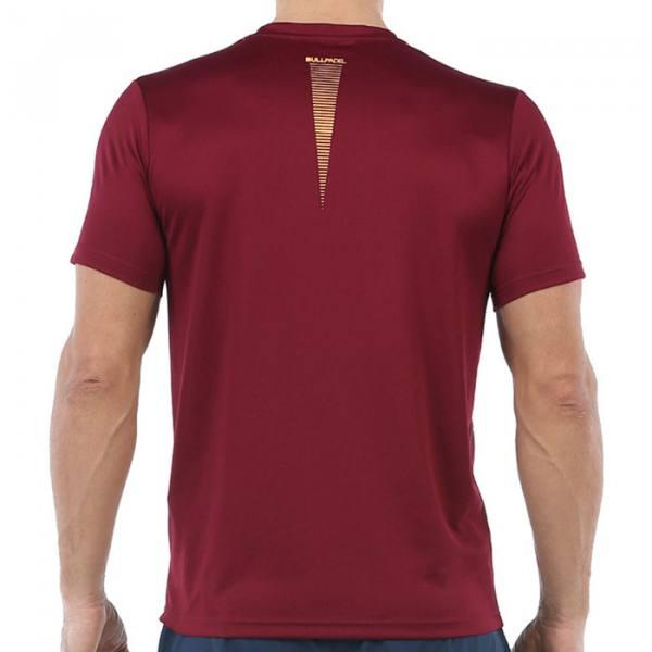 Camiseta Bullpadel Cenegui Vino 20