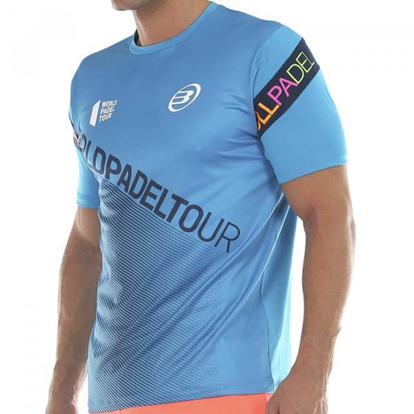 Camiseta Bullpadel Sipre Azul 2020