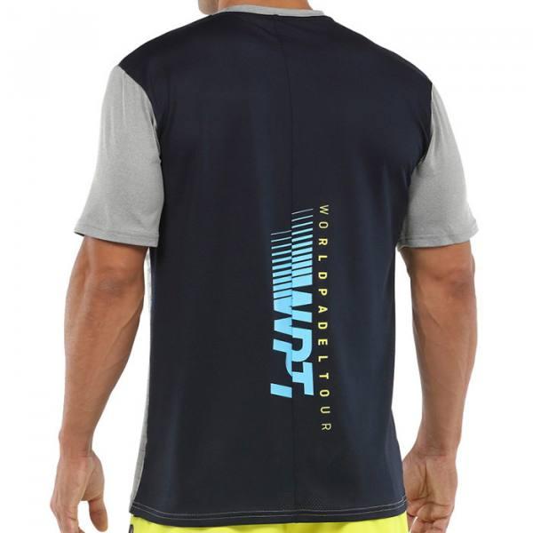Camiseta Bullpadel Vigia Gris Medio