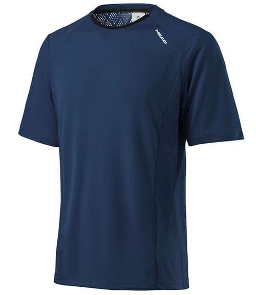 Camiseta HEAD Performance Crew Azul