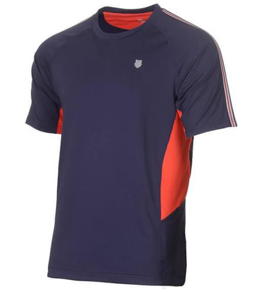 Camiseta KSwiss Heritage Azul