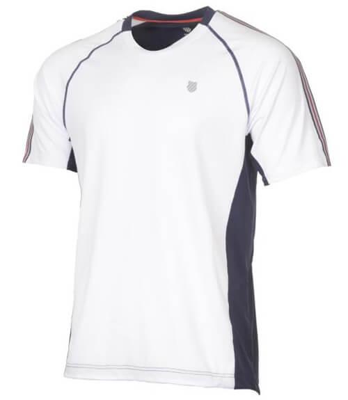 Camiseta KSwiss Heritage Blanco