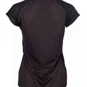 Camiseta K-Swiss Hypercourt Express Negra Mujer 2019