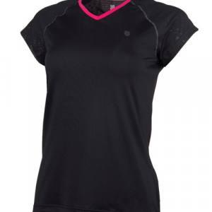 Camiseta K-Swiss Hypercourt Express Negra Mujer