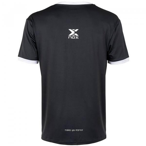 Camiseta Nox Team Plomo-Blanco 2021