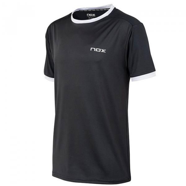 Camiseta Nox Team Plomo-Blanco 21