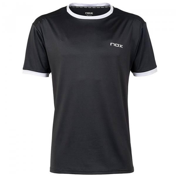 Camiseta Nox Team Plomo-Blanco