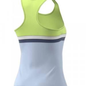Camiseta tirantes Adidas Club Amarilla-Azul