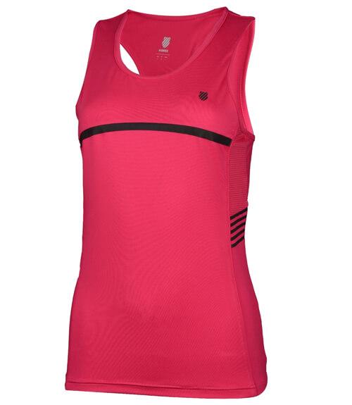 Camiseta tirantes K-Swiss Hypercourt Speed Rosa